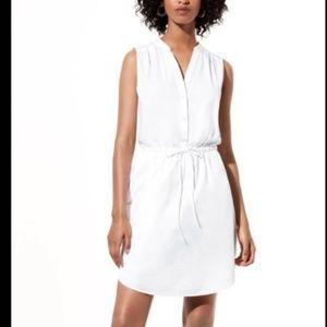 white summer shirt dress from artzia (never worn)